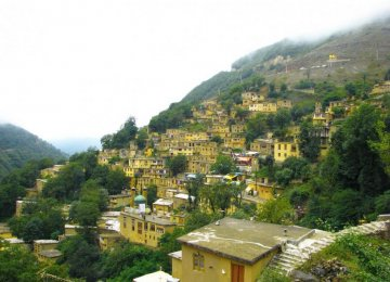 Masuleh the Tiny  Terraced Town