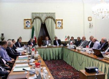 8 groups  preparing  New budget