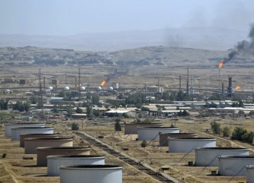 Iranian Firms  Replace Chinese at  S. Azadegan Oil Field