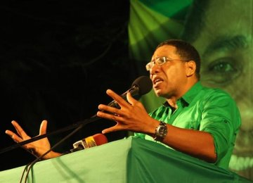 Jamaica's Opposition Wins General Election