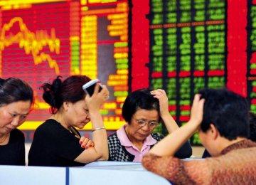 China Shares Slump