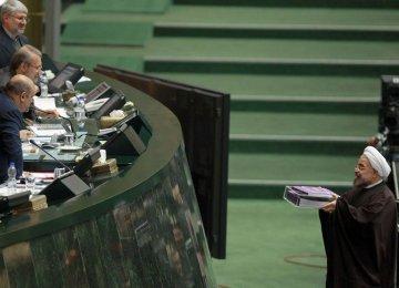 Rouhani Budget  to majlis