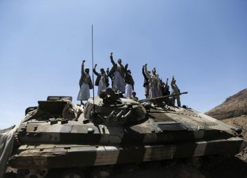 Houthi Allies Launch Missile at S. Arabia