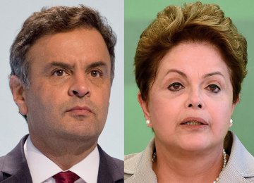 Rousseff, Neves  in Surprise Election Run-Off