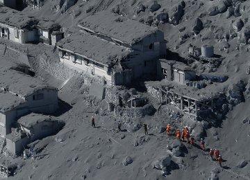 30 Dead in Japan Volcano Eruption