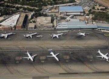 50%  Capacity of Airports Unused