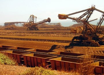 Iron Ore for Export at IME