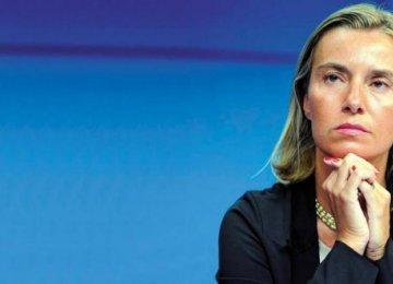 EU Looks  to Iran  on Syria Crisis