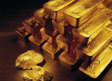 Central Bank Stops Selling Gold Bars