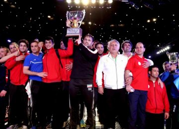 Iran Beats US to Win Freestyle World Cup