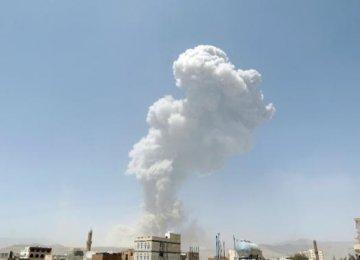 Saudi-Led Warplanes Pound Sanaa Airport