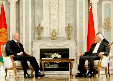Belarusian President Set to Push for Increased Trade