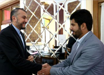 Parliamentary Advisor Meets Houthi Delegation