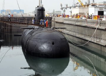 Navy to Take Delivery of New Submarine Soon