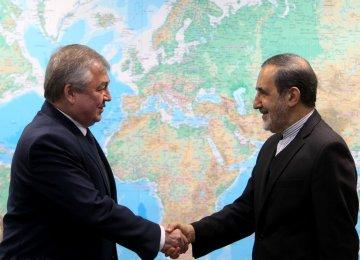 Velayati, Putin's Envoy Discuss Region, Ties