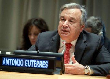 Next UN Chief Stresses Iran's  Regional Role