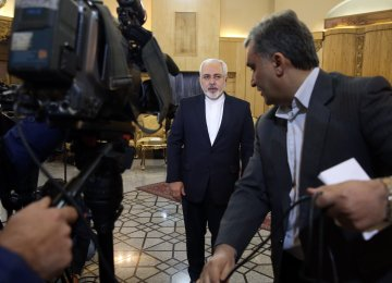Zarif Outlines Moscow Declaration on Syria