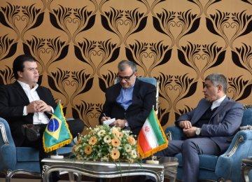 Tayyebnia Meets Brazilian Minister