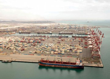 Shahid Bahonar Port Operations Increase