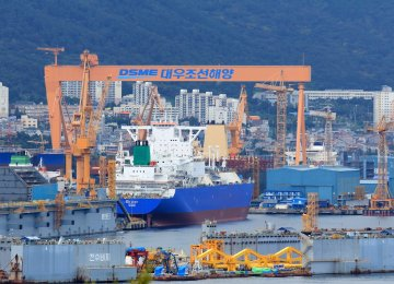 "DSME is the fourth largest shipbuilder in the world and one of the ""Big Three"" shipbuilders of South Korea (including Hyundai and Samsung)."