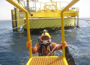Buoys can serve as a mooring point to load and offload oil for tankers.