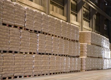 Cement Output Estimated at 57m Tons