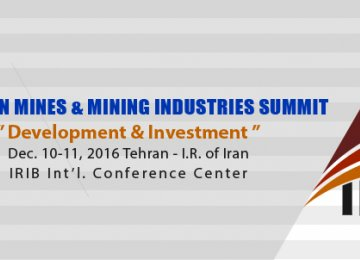 Iran Mining Confab Scheduled