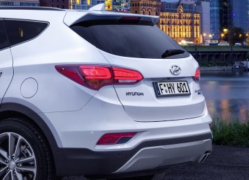 The imported car model which holds the sales record in Iran is South Korea's Hyundai SantaFe.