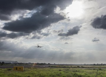 Cloud seeding takes three to four months and may result in up to 30 minutes of precipitation. (Photo: Philippe Calia/Bloomberg)