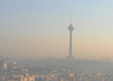 Tehran Schools Closed Again Over Air Pollution