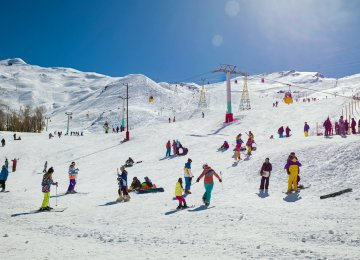 The planned resort is expected to dethrone Dizin (pictured) as the largest ski resort in Iran.