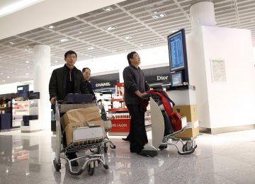 Chinese tourists have a reputation for spending big on vacations.