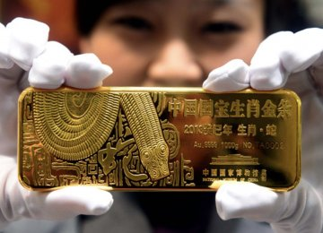 In China, bullion of 99.99% purity fell 1%.