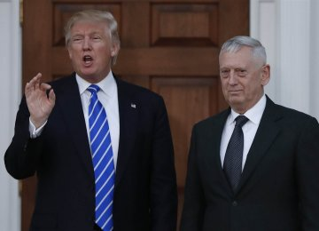 US Cabinet of Generals  Get Mixed Reviews