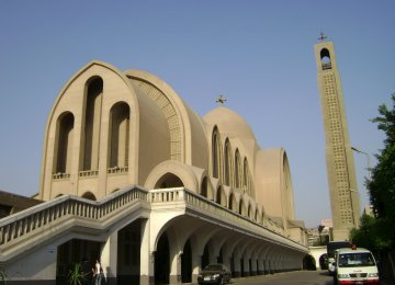 Cairo's Coptic cathedral
