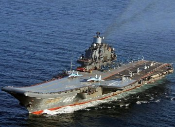 The Chinese aircraft carrier, Liaoning