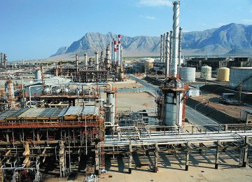 Iran's crude processing capacity stands at about 1.85 million barrels a day.
