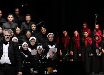 Two Choirs, 160 Vocalists in  Joint Concert for Fajr Music Event