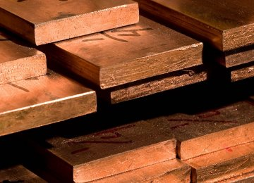 1% Growth in Copper Production