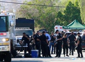 Gunman Kills 2 Police Officers in US Town