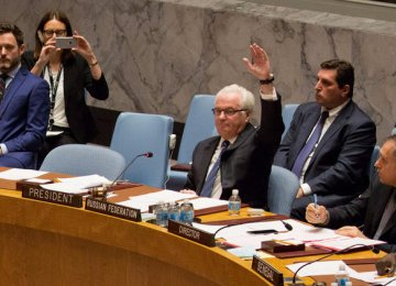 Rival Syria Resolutions Defeated at UNSC