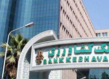 The credit line has been opened by Keshavarzi Bank.