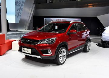 Tiggo 3X only went on sale in April in China.