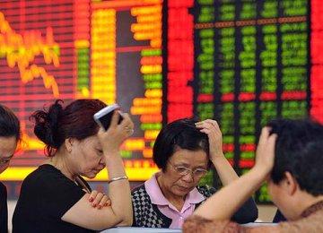 China Stocks Waver