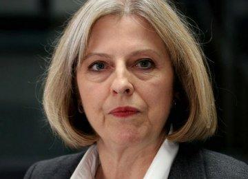 UK Premier Theresa May