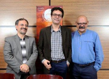 Ali Famyan (L), Reza Shokrollahi (C) and Kourosh Safavi