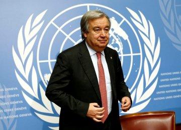 Guterres Nominated UN Chief