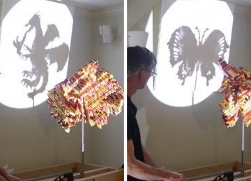 Amazing 3-in-1 LEGO Shadow Sculptures