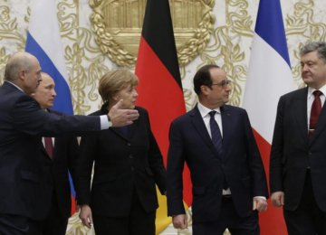 Europe Warns of New Sanctions If Russia Fails Ukraine Truce