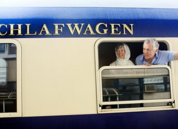 Europe Luxury Train in Zanjan